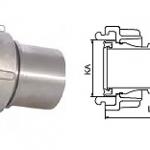 Тип «Storz»  с защитной обоймой, без хомутов, стандрат DIN 2817-3